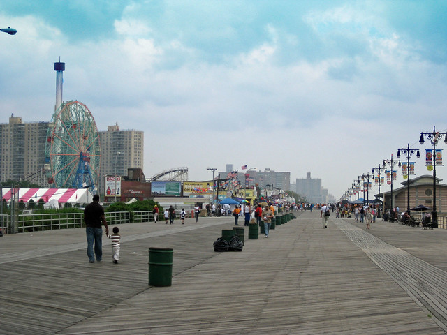 The Wonder Wheel and Coney Island