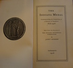 The Indiana Medal Book Title Page