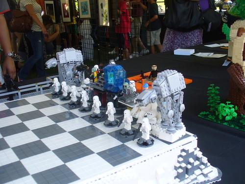 lego starwars minifigure chess set