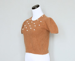 carrot pearl sweater