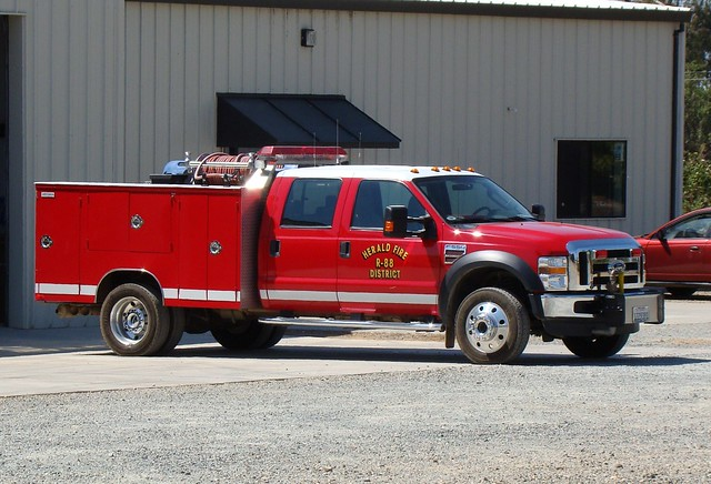 california rescue ford truck fire herald apparatus fd fpd f550 westmark