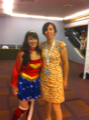 With Wonder Woman