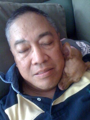 Dad & Peanut