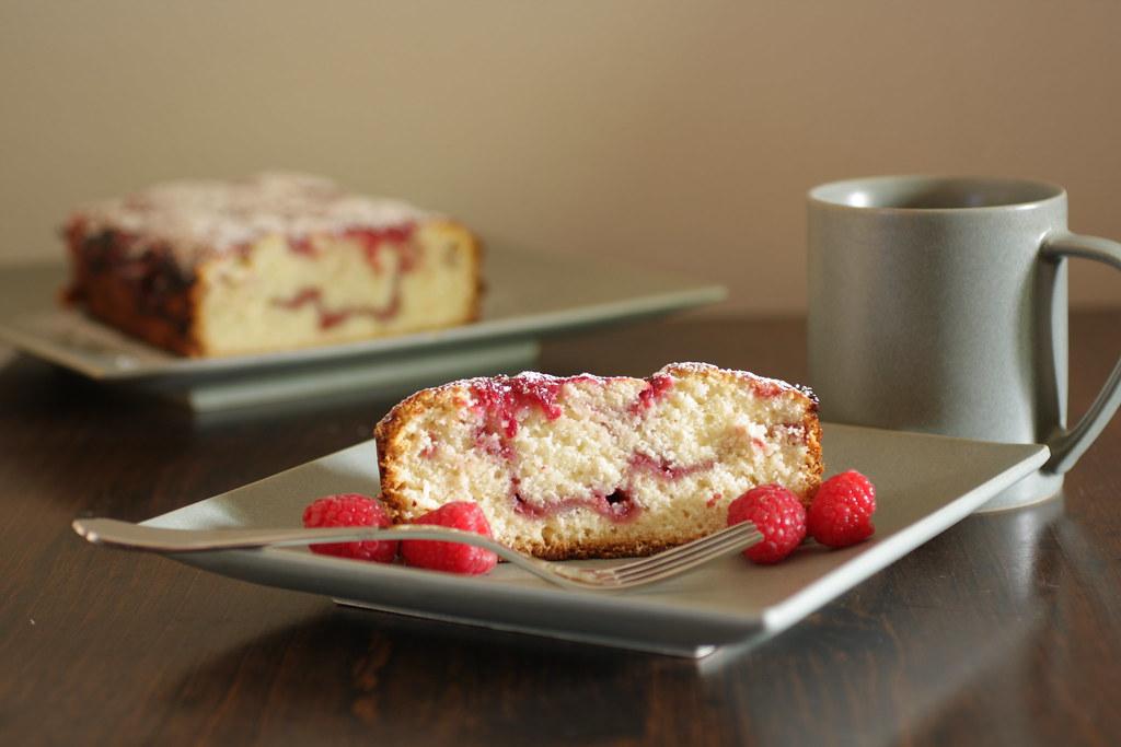 served cake