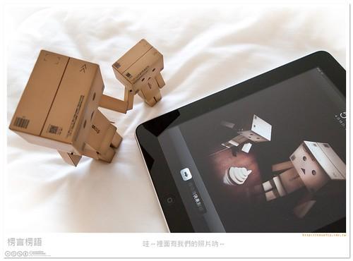 [楞言楞語]阿楞 + iPad