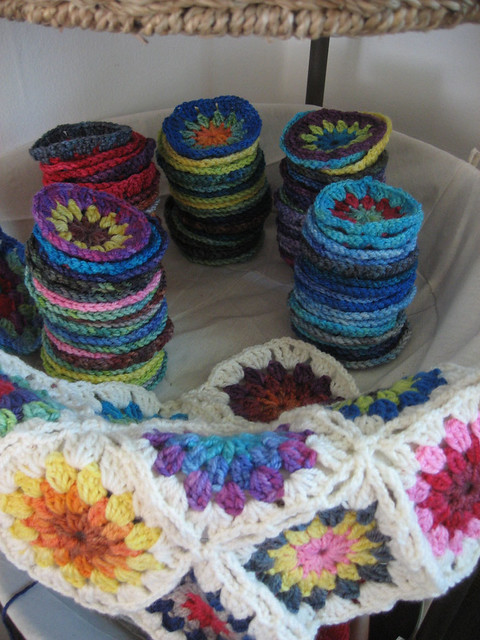 Crocheted circles!