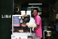 Street Food in Bangkok (Akaal Studio) Tags: travel streets thailand colorful bangkok streetphotography streetportrait siamese thai streetfood angad travelphotography portriature colorefexpro kingdomofthailand tokina1116 nikosoftware
