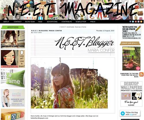N.E.E.T. Mag Feature 08.12.10