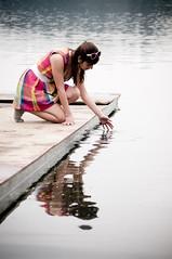 Te atreves... (Fenanov) Tags: water reflections mirror agua espejo concepcin laguna fro sanpedro reflejos vital 50mmf17 conexin imaginacin dimensiones 4elementos fenanov caritodelpozo