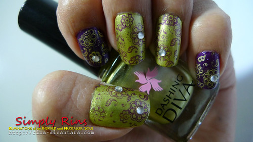 Nail Art - Bridesmaid 02