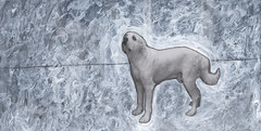 Ginormous Joe artwork by Scarlett Raven (Author S C Cunningham) Tags: charity rescue dog london art love children book dallas funny spin books bark childrens author nasty picturebook pyreneesmountaindog kidbook goodwinsoverevil