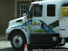 Hillsborough County International Hybrid Service Truck (FormerWMDriver) Tags: county public truck international works service hybrid utilities ih hillsborough ihc durastar