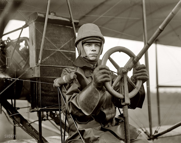 1912 army curtiss test pilot