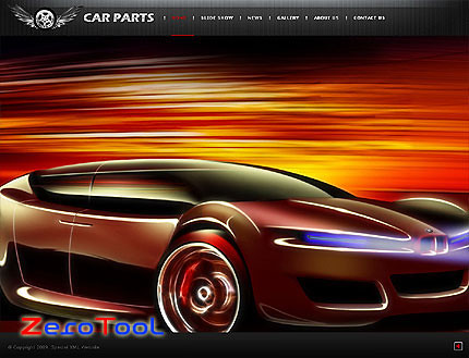 FlashMint 2643 rip Car parts flash XML full website