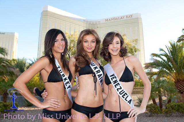 Miss Universe bikini Ukraine Anna Poslavska