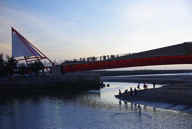 帆船觀夕橋