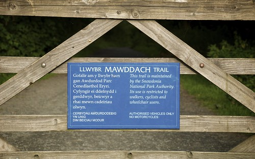Sign On The Mawddach Trail