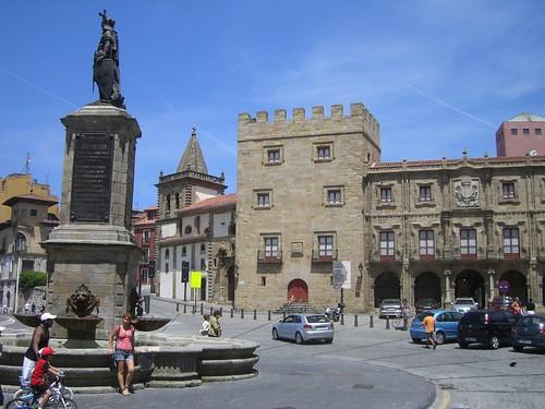 Gijón Plaza del Marqués
