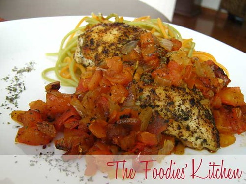 Chicken with Roasted Tomato Sauce