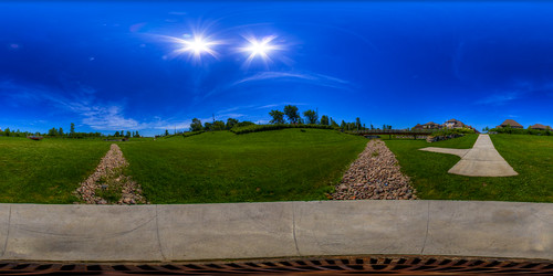 Happy planet is happy! - Equirectangular in Boucherville, Quebec
