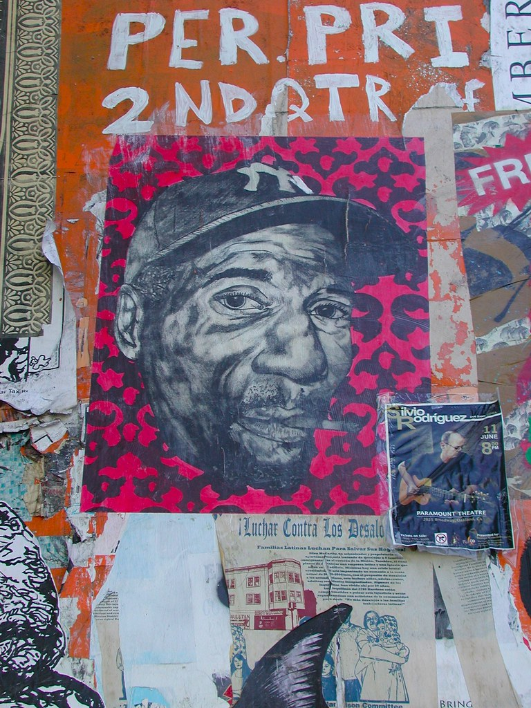 Hugh Leeman, Street Art, Graffiti, Wheat Paste