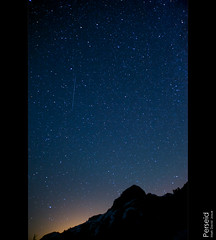 Perseid: Shooting Star (mj.foto) Tags: light sky lake night painting shower star washington nikon long exposure mt baker nightscape north trails astrophotography cascades ann astronomy 24mm nikkor meteor constellation shuksan polaris milkyway shootingstar perseid swifttuttle d700 markjosue