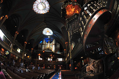 Basilique Notre-Dame - 5 (flickrfanmk2007) Tags: canada church nikon quebec montreal fisheye notre dame basilique d300 105mm