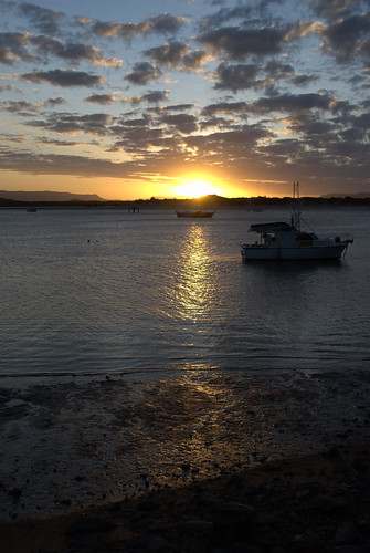 Sunset in Cooktown