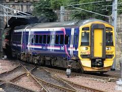 158731 Edinburgh Waverley 020810 (Dan86401) Tags: first scotrail class 158 1580 sprinter dmu brel dieselmultipleunit supersprinter edinburghwaverley 158731
