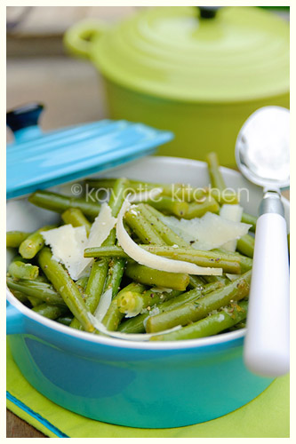 Lemon Green Beans