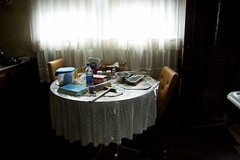 (.allieee) Tags: old grandma house home window kitchen canon table michigan curtain grandpa oldhouse grandparents carroll 1350 saginaw canon50d
