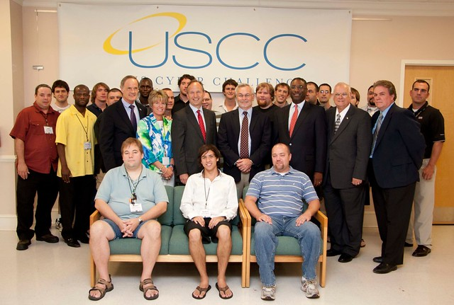 Participants at last year's Security Camp held at Wilmington University's Dover site.