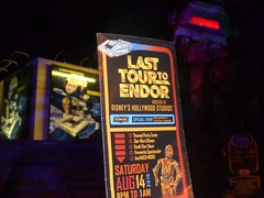 Last Tour to Endor: Guidemap (partyhare) Tags: fan starwars map disney event disneyworld characters wdw waltdisneyworld dhs attraction c3po startours parkmap starspeeder atatwalker celebrationv disneyshollywoodstudios lasttourtoendor