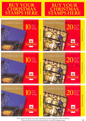 2000 Christmas Stickers Code 885