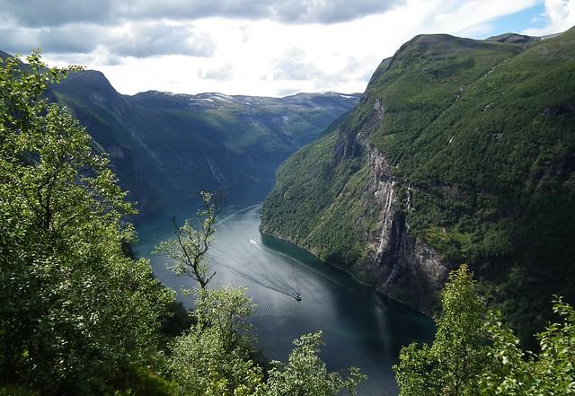 uitkijkpunt Geirangerfjord