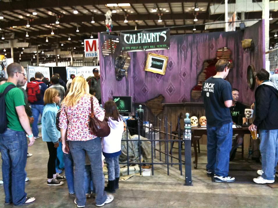 CalHaunts Booth
