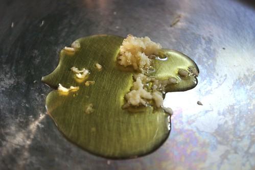 garlic & oil