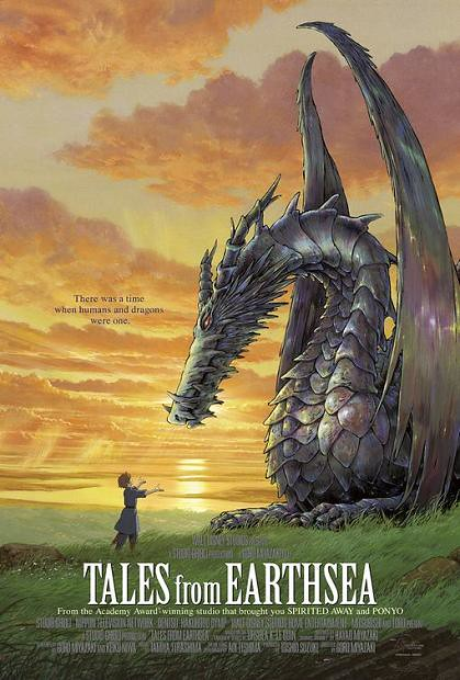 Tales from Earthsea (English) poster