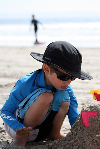 Day 210 - Sandcastles...