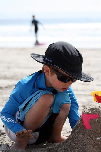 Day 210 - Sandcastles...