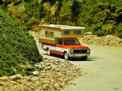 C-10 Camper in the Country (Phil's 1stPix) Tags: classic gm pickup hobby replica chevy greenlight diorama classictruck ig scalemodel diecast diecastcar diecastmodel diecasttruck diecastcollection 164diecast diecastvehicle 1stpix diecastdiorama 164truck 1stpixdiecastdioramas 164vehicle 164diorama 164car c10pickup dioramamaker