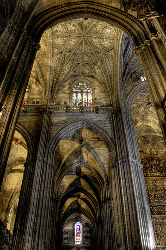 Cathedral of Seville. Catedral de Sevilla.