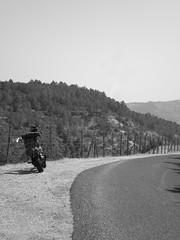 on the road (gnesa) Tags: road street blackandwhite nature blackwhite cielo virago sicily asphalt asfalto ontheroad ferla pantalica blackwhitephotos