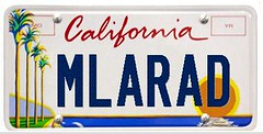 MLARAD license plate