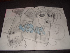 random blackbook sketch (Nerfoner_13) Tags: graffiti peace leno vents blackbook voe nerfoner voeone