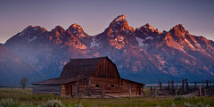 """The Barn"" (Dan Ballard Photography) Tags: favorite mountains dan barn gallery hole jackson best ballard portfolio tetons grandtetonnationalpark"