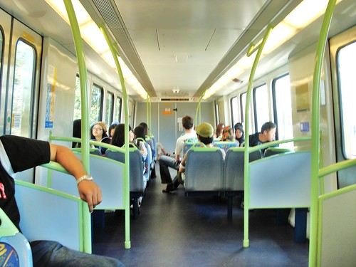 melbourne in train