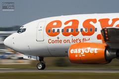 G-EZKB - 32423 - Easyjet - Boeing 737-73V - Luton - 100816 - Steven Gray - IMG_1493