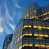 Architecture (Rafakoy) Tags: city nyc blue sky ny newyork color colour building tower colors lines architecture digital frank pier chelsea colours manhattan piers gehry form owen meatpackingdistrict frankowengehry nikond90 afsnikkor18105mmvr aldorafaelaltamirano rafaelaltamirano aldoraltamirano