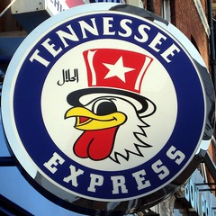 Tennessee Express (mag3737) Tags: chicken hat star restaurant tennessee beak squaredcircle express squircle testicles